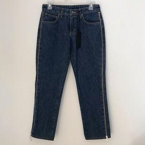 [LF] Carmar Desdemona Side Zipper Relaxed Jeans